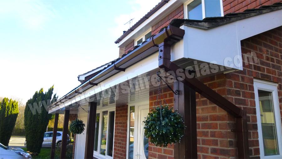 derbyshire fascias white roofline