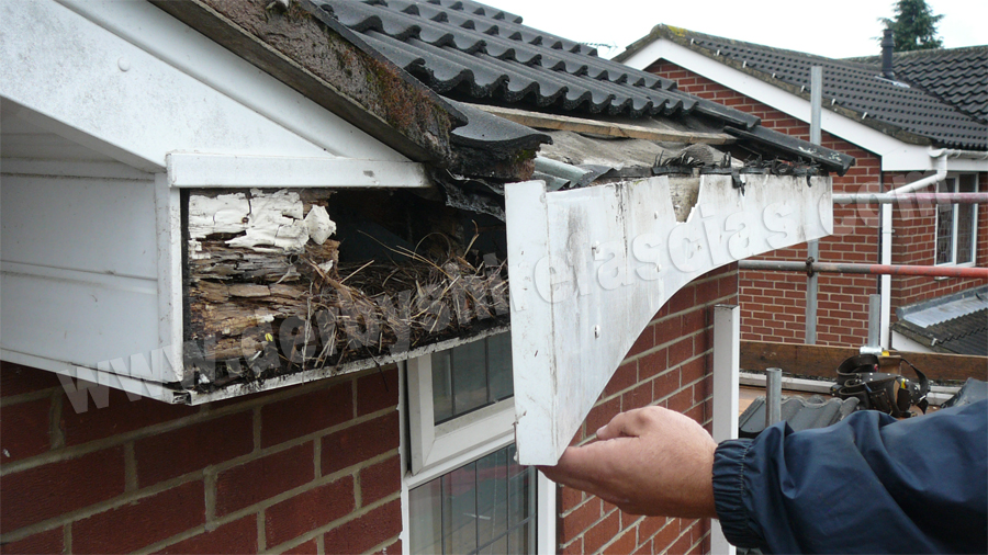 results of over boarding fascias
