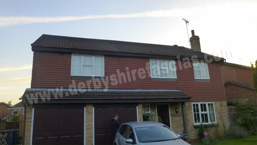 Old Tired Fascias and Soffits