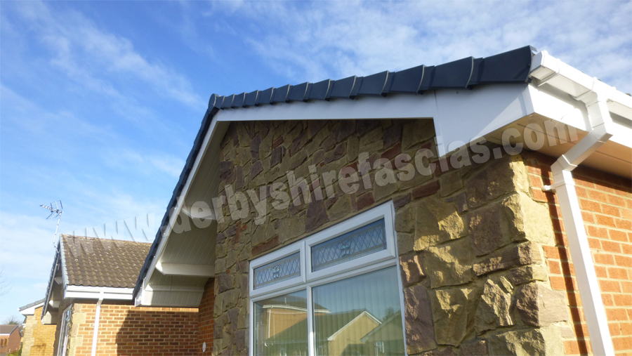 Black Dry Verge by Derbyshire Fascias