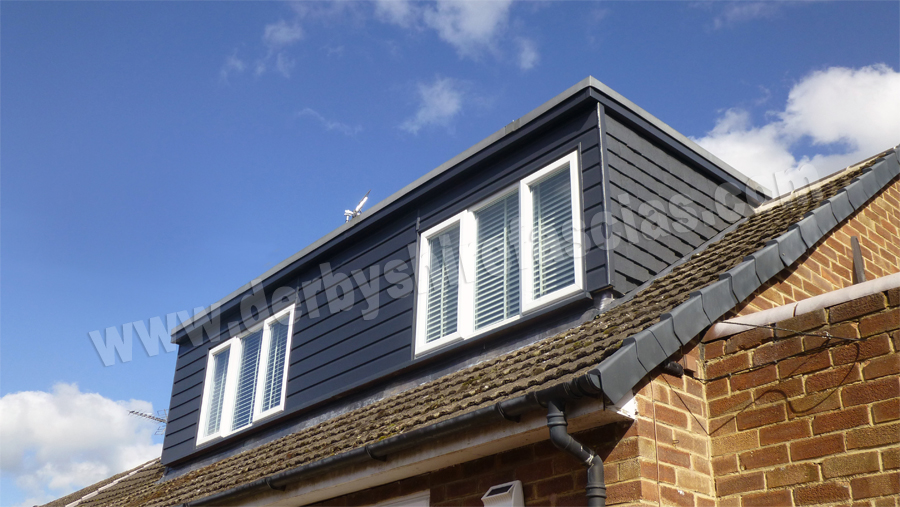derbyshire fascias woodgrain pvc cladding