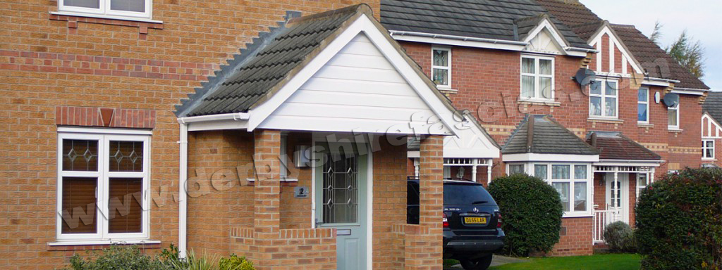 Derbyshire Fascias for all your derby porch requirements