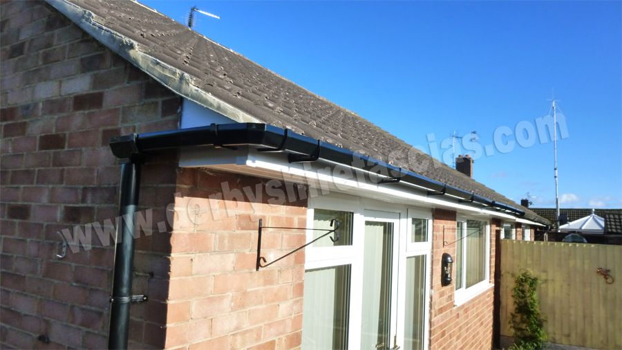 derbyshire fascias white roofline